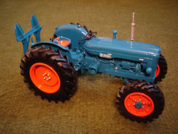 RJN Classic Tractors Fordson E1A Major Roadless Winch  Diesel Model Tractor