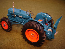 RJN CLASSIC Tractors Fordson E1A ROADLESS MAJOR WINCH TRACTOR MODEL