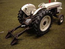 David Brown 990 Selectamatic 2wd winch tractor model