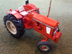 RJN Classic Tractors Nuffield 4/65 Wide Tyres tractor model
