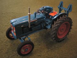 Fordson Major Winch Tractor Model