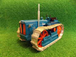 RJN Classic Tractors Fordson E1A Diesel Major Crawler 4cyl Tractor Model