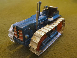 RJN Classic Tractors Fordson Power Major Crawler 4cyl Tractor Model