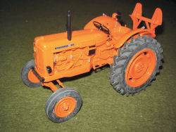 Nuffield 4/60 Winch tractor model