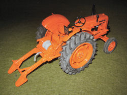 RJN Classic Tractors Nuffield 4/60 winch Tractor Model