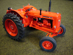 RJN Classic Tractors Nuffield 4/60 wide tyred Tractor Model