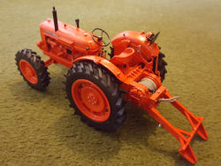 RJN Classic Tractor Nuffield 10/60 4wd Winch Tractor Model