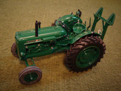 RJN CLASSIC TRACTORS Nuffield 10/60 Forestry Winch Tractor Model
