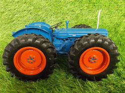 RJN Classic Tractors County Super Six Soft Nose Blue Orange Fat Tyres